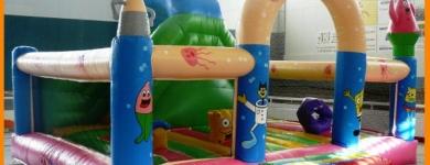 Castillo Bob Esponja – de 1 a 6 años – 5mx6mx4m