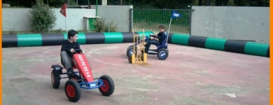 Circuitos de karts a pedales