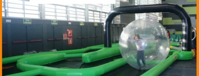 Inflable Circuit de boles