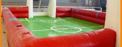 Pista de fútbol grand – A partir de 3 años – 12mx6mx2m