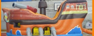 Barco pirata – de 1 a 8 años – 6mx4mx4m