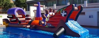 Plataforma Aigua Pirata – 12m*2,5m*2m