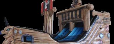 Barco Pirata Grande – 8m*4,5m*5m