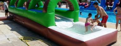 Inflable Lliscador Petit Palmeres – 8m*1,5m*2m
