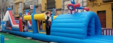 Pista Americana Marvel – 13m*2m*2,5m