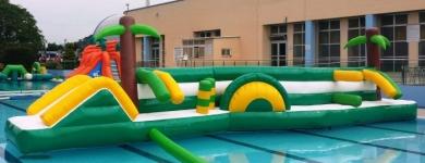 Plataforma de Agua Doble Carril – 11m*1,5m*2m
